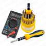 Kit Reparacion Tester Multimetro + Set 31 Destornilladores
