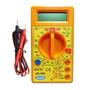 Multimetro Digital Con Buzzer Zr 160