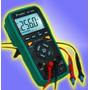 Tester Multimetro Digital Lcd Profesional Pc Proskit Mt1860