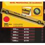 Nivel Profesional De Aluminio 1000mm Black Jack D198 #