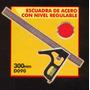 Escuadra De Acero Con Nivel Regulable Black Jack