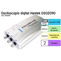 Osciloscopio Digital Usb 60mhz Hantek Dso2090 Ideal Notebook