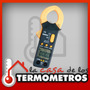 Mini Pinza Amperometrica Digital Ac/dc Alterna Continua 600a