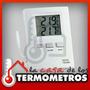 Termometro Digital Con Sensor Interno Y Externo Tfa Max Min