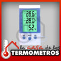 Termóhigrometro Digital Con Sensor In/out Temperatura