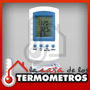 Termóhigrometro Digital Con Sensor In/out De Temperatura