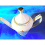 El Arcon Hermosa Cafetera De Porcelana Pozzani 20 Cm 6024