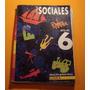Libro Ciencias Sociales 6 Egb Editorial Estrada