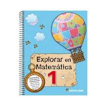 Explorar En Matematica 1 Santillana Nuevo