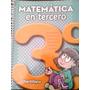 Libro De Matemática En Tercero Ed. Santillana