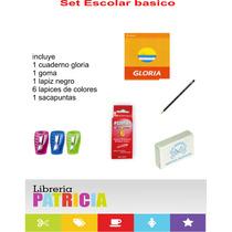 Kit / Set Combo Escolar Primaria Economico