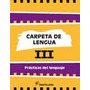 Carpeta De Lengua Iii Santillana Nuevo