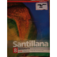Geografía 8 Egb - Ed. Santillana - Serie Claves- Bertoncello