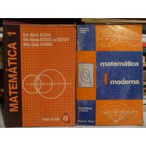 Lote X2 Libros Matematica 1,nivel Secundario