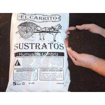 Humus De Lombriz X 25dm3. Fertilizante Ideal Para Jardinería