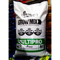 Grow Mix Multipro Terra Fertil 80 Lts - Jardin Urbano Shop