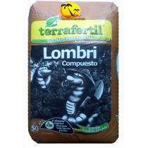 Humus De Lombriz X 50l -terrafertil - Abono Orgánico- Z Sur-