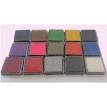 Almohadillas Para Sellos. (pack Por 3 Unidades) - Colores