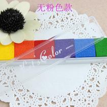 Tinta Para Sellos X 6 Colores