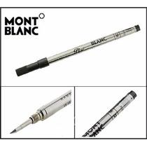 Repuesto Roller Negro Trazo Medio Montblanc Mont Blanc