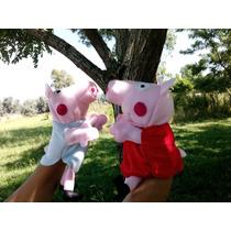 Oferta Titere De Mano Peppa Pig George Las 2 Unidades Fami