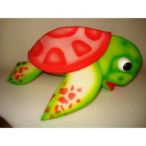Titeres En Goma Espuma: Tortugas Grandes Acuaticas Juguetes