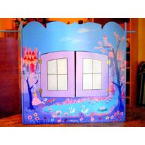 Teatro Para Titeres Grande Juguete Didactico Regalo Original