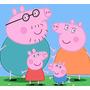 Titeres Mano Peppa Pig George Y Familia X4 Unid