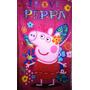 Toallon Infantil Piñata Pepa Pig.frozen Minions,monster,hig