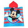 Mickey Salida De Baño Ponchos Con Capucha Toallas Infantiles