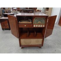 Mueble Combinado Americano Retro Vintage Radio Winco Excelen