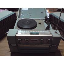 Combinado Tocadiscos Valija / Radio Portátil Crown Japón