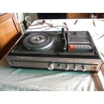 Bandeja Tocadisco Con Radio Y Cassetera Marca Panasonic -599