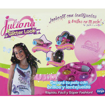 Juliana Glitter Look Apliques P/ Pelo Mira Video Tv! Jiujim