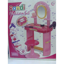 Set De Tocador Rondi Fashion Set Envio Sin Cargo Caba