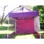 Carpa Playera Plegable 2x2- Aluminio Kit Pocket Cabure