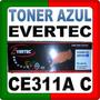 Toner Evertec Ce311a C Azul Laserjet Cp1025 / 1025nw Box