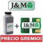 Kit Toner + Chip Xerox 3052 3260 3215 3225 3k 3000 Páginas
