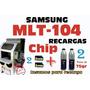 Potes Samsung Mlt-104 Ml104 Ml 1665 1660 Scx 3200 Lleva 2