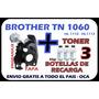Polvo Brother Tn 1060 Engranaje + 3 Recargas + Envió Gratis