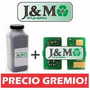 Toner + Chip Xerox 5500 5550 5225 5230 M123 M133 M118 500gr