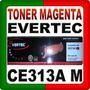 Toner Evertec Ce313a M Magenta Laserjet Cp1025 / 1025nw Box
