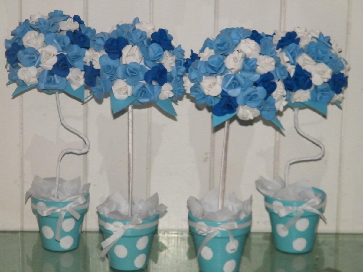 Como hacer centro d mesas con flores d goma eva imagui - Hacer un centro de flores ...