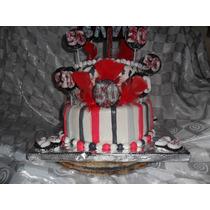 Torta Cumpleaños Especial ....2pisos.50 Personas