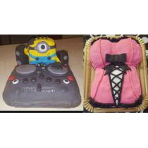 Tortas Decoradas Personalizadas Cumpleaños Ayl Creaciones