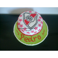 Torta Artesanal: Cuadros De Futbol