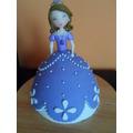 Tortas Vestidos Princesas- Frozen, Sofia, Bella Etc