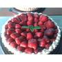 Tarta De Frutillas Con Crema