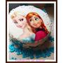 Torta Frozen Elsa Y Ana Precio Por Kg Decorada Como Foto