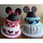 Torta 2 Pisos Mickey O Minnie - Spezzias Pasteleria Palomar